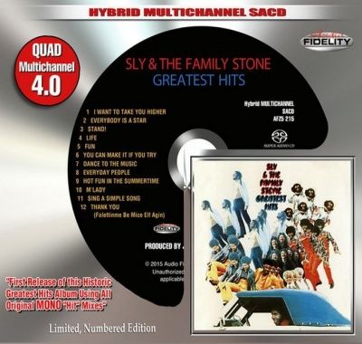 Sly & The Family Stone - Greatest Hits (1970) - Hybrid Multi-Channel SACD