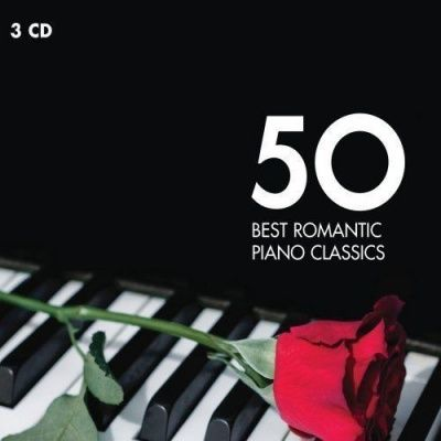 V/A 50 Best Romantic Piano Classics (2013) - 3 CD Box Set
