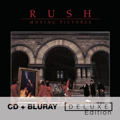 Rush - Moving Pictures (1981) - CD+Blu-Ray Audio Deluxe Edition