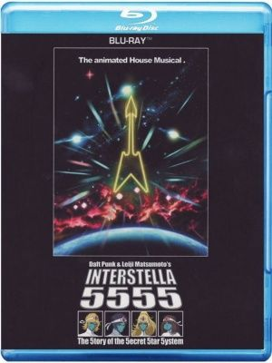Daft Punk - Interstella 5555 (2011) (Blu-ray)