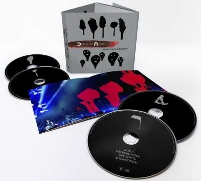 Depeche Mode - Spirits In The Forest (2020) - 2 CD+2 Blu-ray Box Set