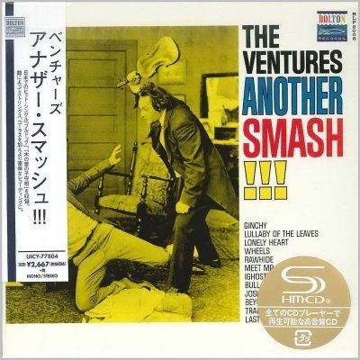 The Ventures - Another Smash!!! (1961) - SHM-CD Paper Mini Vinyl