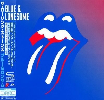 The Rolling Stones - Blue & Lonesome (2016) - SHM-CD