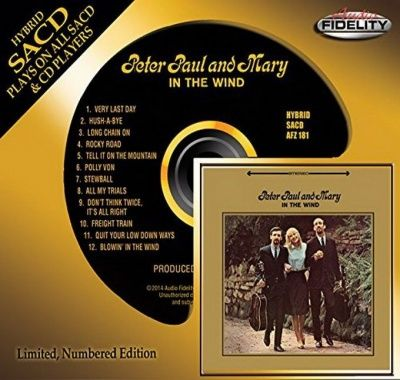 Peter, Paul and Mary - In The Wind (1963) - Hybrid SACD