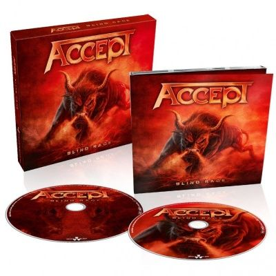 Accept - Blind Rage (2014) - CD+DVD Box Set