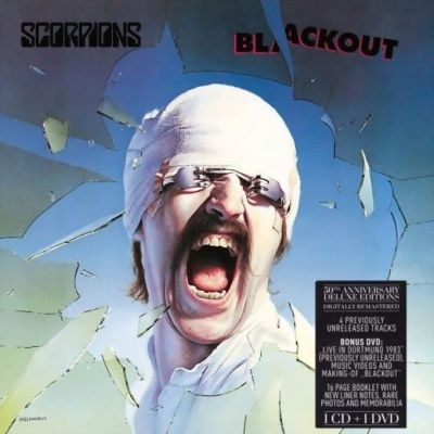 Scorpions - Blackout (1982) - CD+DVD 50th Anniversary Deluxe Edition
