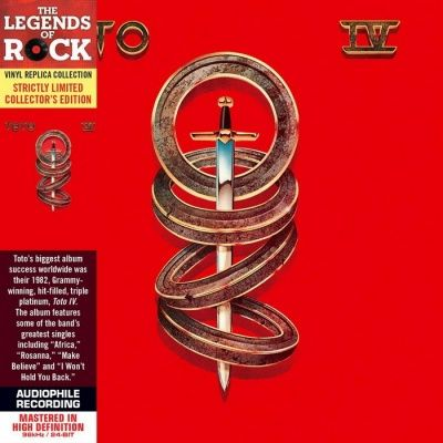 Toto - IV (1982) - Limited Collector's Edition