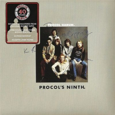 Procol Harum - Procol's Ninth - 40th Anniversary Edition (1975) - Original recording remastered
