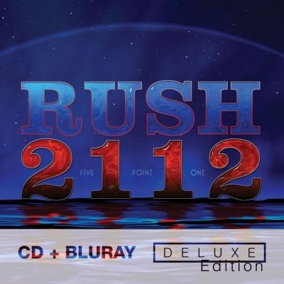 Rush - 2112 (1976) - CD+Blu-Ray Audio Deluxe Edition