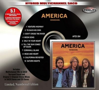 America - Homecoming (1972) - Hybrid Multi-Channel SACD