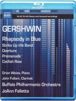Gershwin - Rhapsody In Blue (2013) (Blu-Ray Audio)