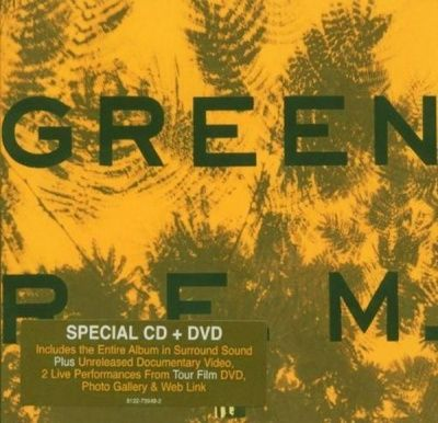 R.E.M. - Green (1988) - CD+DVD-AUDIO Special Edition